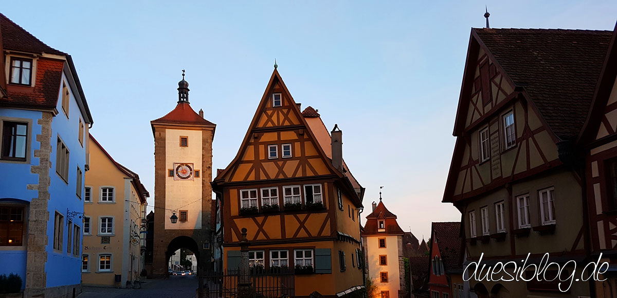 Rothenburg Reiseblog