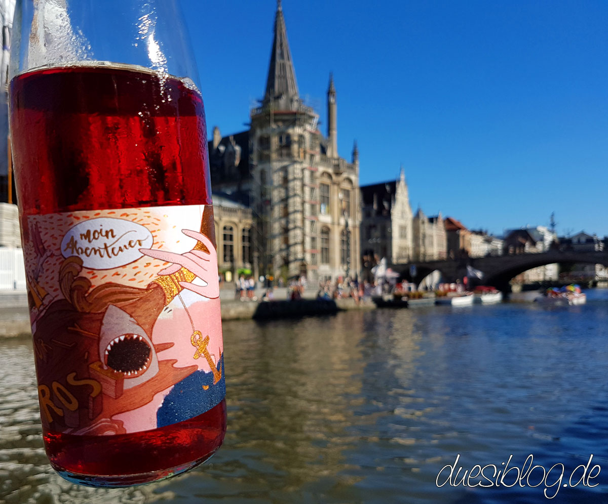 Weinschwestern Rose in Gent Korenlei