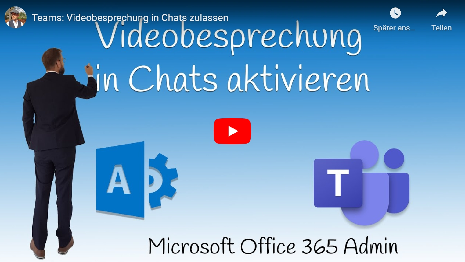 Videobesprechung in Chats